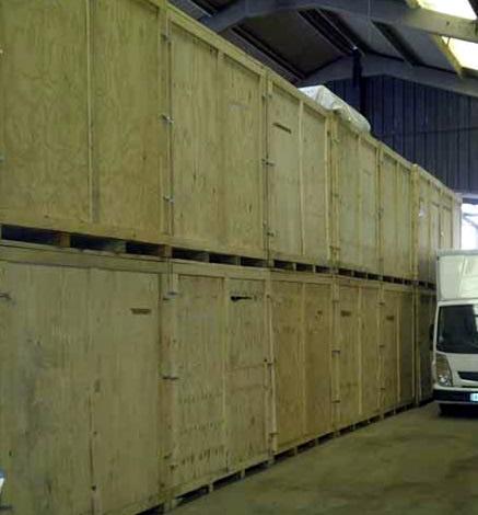 Box de stockage / Garde meuble sur Lille